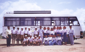 Mobile Science Lab (MSL) at Mahad
