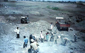 Photo of Surodi before Watershed Development